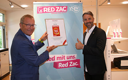 Red Zac Markttest bestätigt hohe Corporate Social Responsibility
