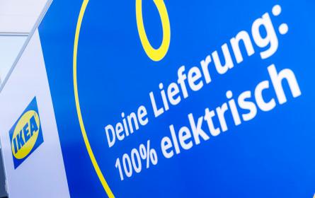 Ikea Österreich präsentiert Elektrofahrzeug-Flotte: Bis Jahresende wird in Wien emissionsfrei zugestellt