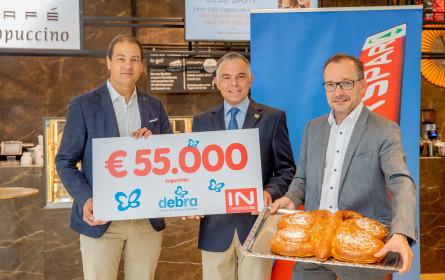 Interspar spendet 55.000 Euro an Debra Austria
