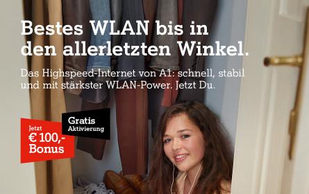 WLAN ist der Star der neuen A1-Kampagne