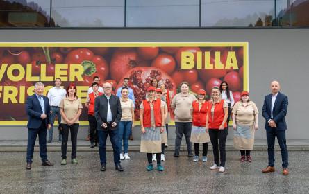 Billa-Wiedereröffnung in Bruck an der Großglocknerstraße
