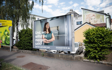 Kampagne: Und, wo willst du morgen sein?