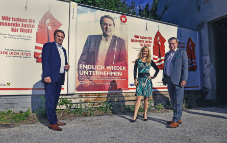 """""""Endlich wieder unternehmen"""": Wirtschaftsbund NÖ startete Kampagne für Unternehmen"""