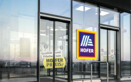 Hofer-Filialen werden um 160 Mio. Euro modernisiert