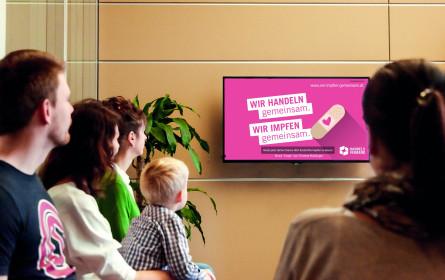y-doc Wartezimmer TV kooperiert mit dem Handelsverband