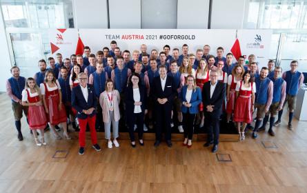 EuroSkills Graz 2021: Team Austria feierlich verabschiedet