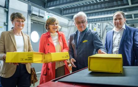 Post baut Logistikzentrum in Vorarlberg aus
