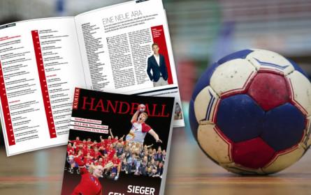 """Die neue Generation der Sieger: """"Kurier"""" präsentiert das Magazin """"Handball"""""""