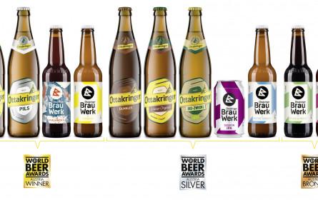 """Ottakringer bei den """"World Beer Awards 2021"""" elf Mal ausgezeichnet"""