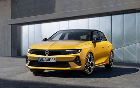 Debüt für neuen Opel Astra