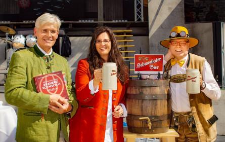 Bierige Geschichte über den Geburtsort des Lagerbieres, die Brauerei Schwechat, wurde präsentiert