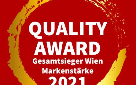 Market Quality Award 2021 vergeben