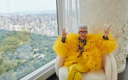 H&M kündigt Zusammenarbeit mit der Modeikone Iris Apfel an