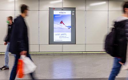 ÖBB Werbung und Goldbach realisieren reichweitenstärkstes programmatisches DOOH-Netzwerk Österreichs
