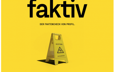 """profil"" startete Faktencheck-Kanal ""faktiv"""