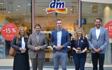 dm-Filiale in der Bäckergasse wieder eröffnet