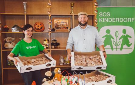 Bäckerei DerMann: 300 Zimtschnecken für SOS-Kinderdorf