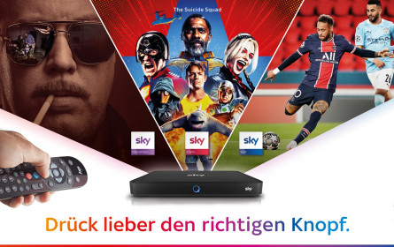 Sky Österreich startet neue Marketing-Kampagne