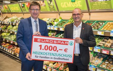 Spar spendet in Großhöflein