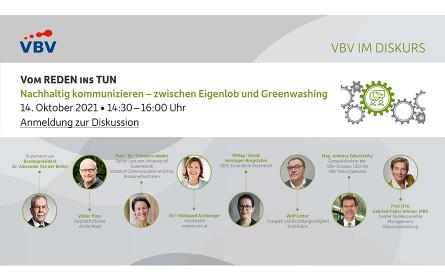 VBV im Diskurs   Vom Reden ins Tun: Nachhaltig kommunizieren