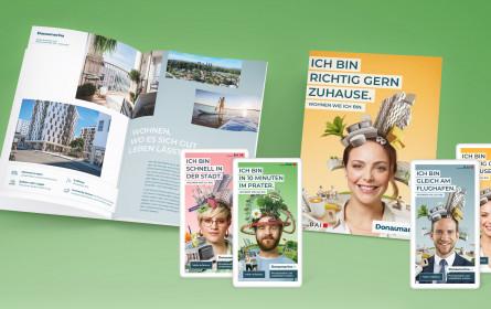 Tunnel23 startete 360 Grad-Kampagne für Donaumarina Studios & Apartments Wien