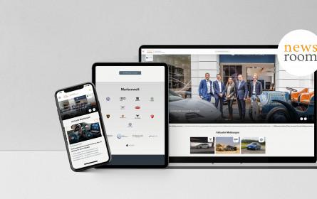Porsche Holding Salzburg launcht neues Media Center