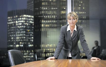 Frauen sind selten Boss