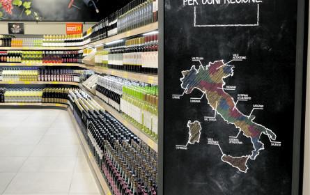 Aldi gibt in Norditalien kräftig Gas