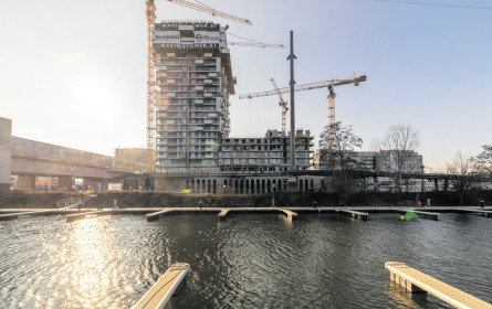 Marina Tower wächst