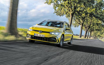 VW Golf vor 3er-BMW und Mercedes C-Klasse