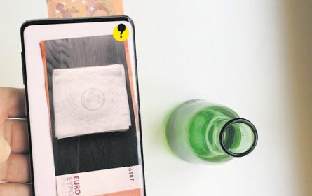 Filme mittels AR auf Banknoten ansehen