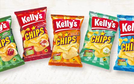 Markenrelaunch für Kelly's Snacks