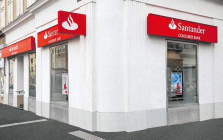 Santander zeigt auf