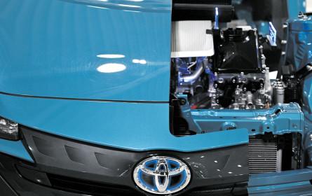 Toyota schickt sich an, die Spitze zu verteidigen