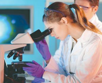 Biotechnologie vor den Vorhang