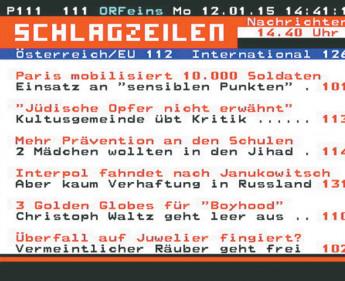 Ein Medienklassiker am Puls der Zeit: Der ORF Teletext wird 35