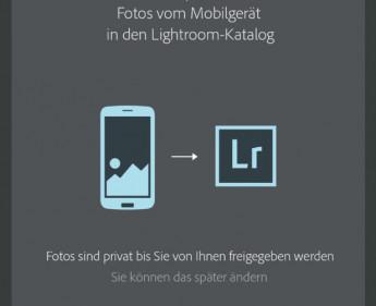 Ein digitaler Leuchttisch für Android-Smartphones