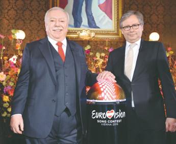 Wien ist nun offizielle ESC-City