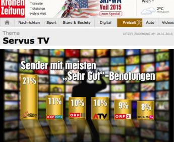 """Servus TV und """"Krone"""" kooperieren"""