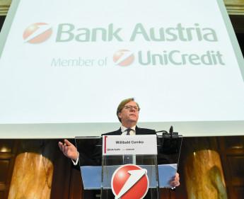Bank Austria verdiente im Jahr 2014 deutlich besser