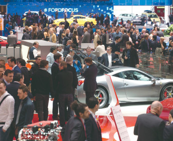 Die Highlights des Genfer Automobilsalons 2015
