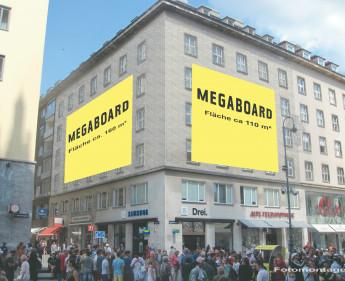 270 m2 Sonderwerbefläche am Wiener Stephansplatz