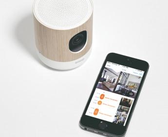 Überwachungskamera mit Platz für mehr Features