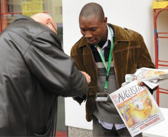 Straßenzeitung feiert Geburtstag