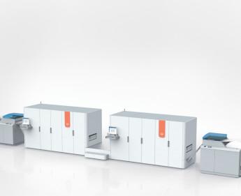 Produktionsdrucksystem auf Tintenbasis