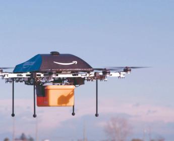 Amazon auf Überflug in den USA