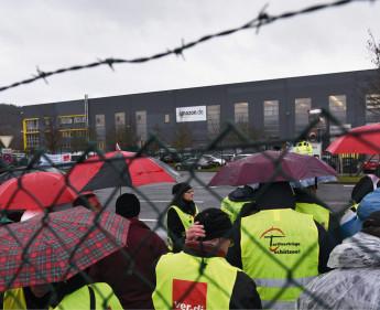 Streik bei Amazon in Deutschland