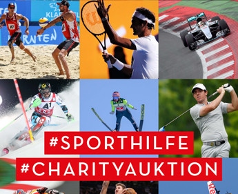 12. Edition der Sporthilfe Charity-Auktion