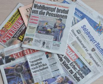 MA: Tageszeitungen verloren erneut leicht an Reichweite