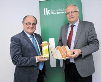 """Österreichs Eier sind """"clean"""""""